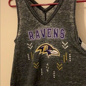 Ravens juniors tank top